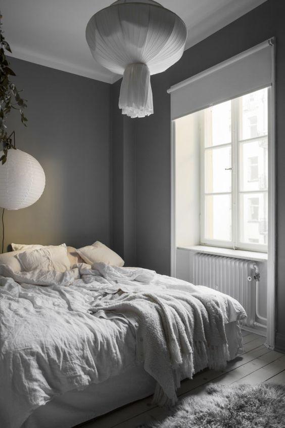 linnelakan av ekologiskt linnetyg för sovrummet